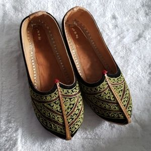 Extremely unique handmade leather shoes